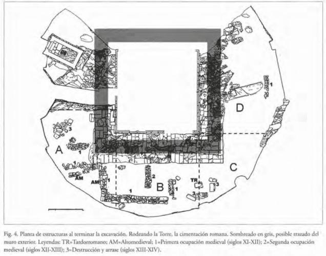 Planta_escavación Torre de Hércules