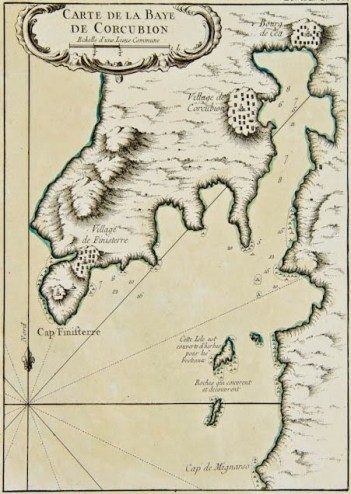 europe-spain-carte-de-la-baye-de-corcubion-bellin-1764